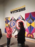 "Tour of ""Witness: Art & Civil Rights in the Sixties"" at the Hood Museum, Dartmouth College. October 2014. Photo by Nikki A. Greene."