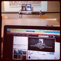 You can follow Leigh Raiford @professoroddjob