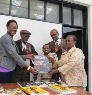 Thanks to the Friends of Wellesley College Library, I was able to purchase books on the Arts of Africa and the Diaspora to donate to the Alle School of Fine Arts & Design, Addis Ababa University