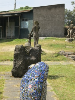 Alle School of Fine Arts & Design Courtyard, Addis Ababa University. Photo by Nikki A. Greene.