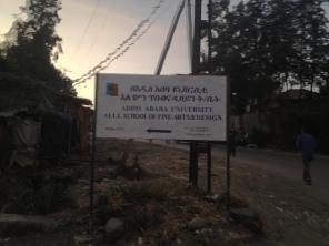 Alle School sign