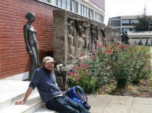 David Olsen. Assistant Professor of Art, Wellesley College. Alle School of Fine Arts & Design. Photo by Nikki A. Greene
