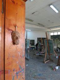 Painting Studio. Alle School of Fine Arts & Design. Photo by Nikki A. Greene