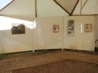 Pavilion. Netsa Art Village. Addis Ababa. Photo by Nikki A. Greene.