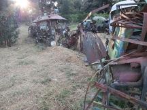 Tesfahun Kibru. Train. Netsa Art Village. Photo by Nikki A. Greene.