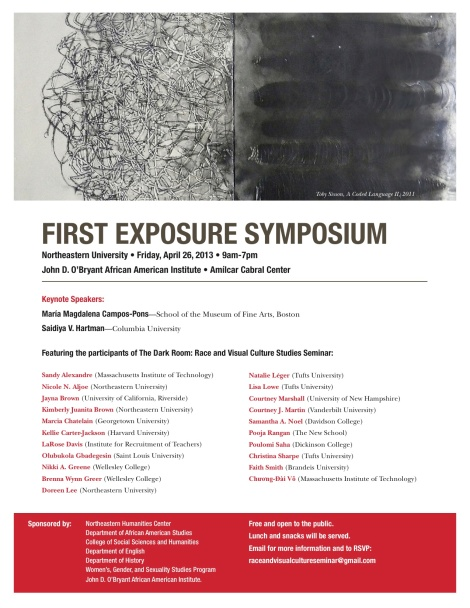 First Exposure Symposium Flier