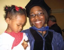 I earned a PhD in Art History from the University of Delaware with my daughter in tow.