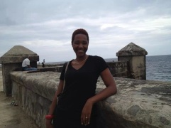 On the Malecon in Havana during the 11th Havana Biennial