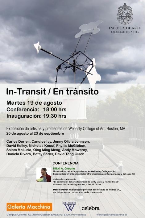Galería Macchina, Universidad Católica, Santiago, Chile. August 2014.