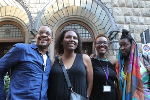 Lyle Ashton Harris, Courtney Martin, Nikki A. Greene, Imani Uzuri.