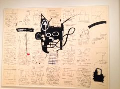 ARTH 264: Basquiat exhibition at the Brooklyn Museum.