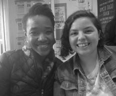 Silvia Galis-Menendez '13 met up w/ARTH 264 in Brooklyn!
