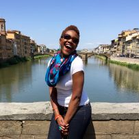 On the Arno River.