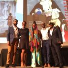 Kwami Coleman, Nikki A. Greene, Imani Uzuri, Matthew D. Morrison, and moderator Hank Thomas. Black Portraitures II Conference, May 30, 2015. Photo by Deborah Jack.