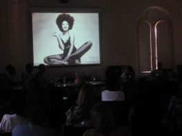 "De Angela Duff presents ""Black Female Rockers: Betty Davis to Joi."" Photo by Nikki A. Greene."