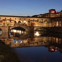 Ponte Vecchio, Florence, Italy. Photo by Nikki A. Greene.