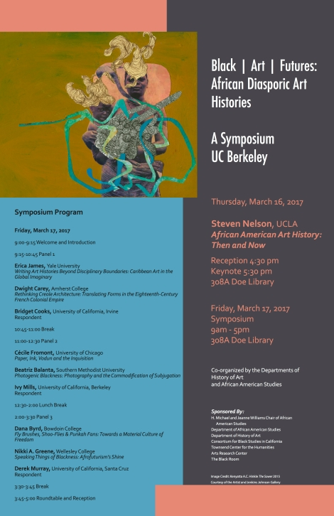 black art futures poster uc berkeley